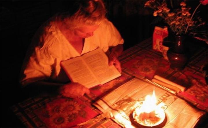 Веерные отключения электричества в Киеве стартовали!