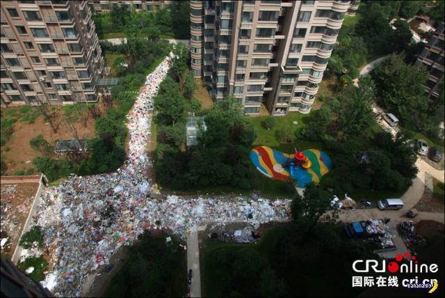 Как выглядит в Китае забастовка мусорщиков