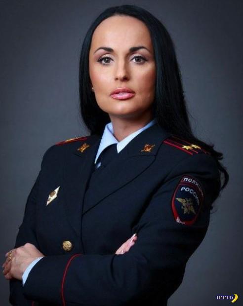 Ах, какая женщина! Настоящий подполковник!