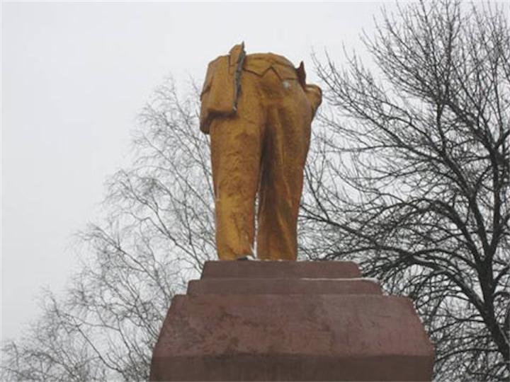 Опрос про памятники Ленину