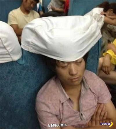 Забавные спящие китайцы