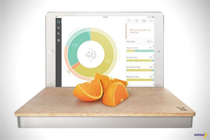 Умные кухонные весы под iPad
