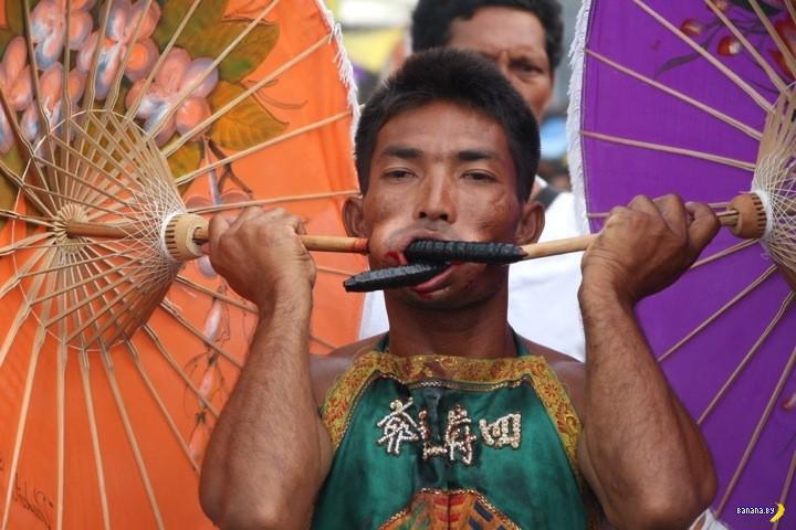 Ежегодная жесть на фестивале вегитарианцев