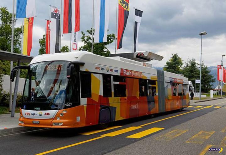 TOSA - беспроводной троллейбус