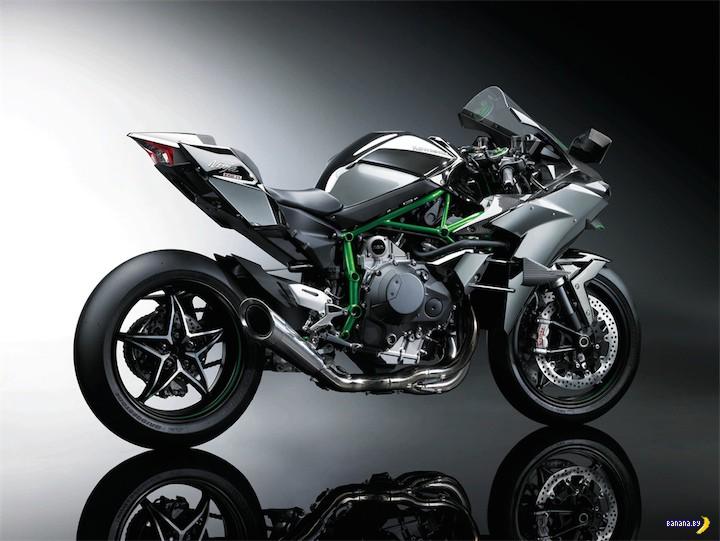 Kawasaki Ninja H2R - еще быстрее