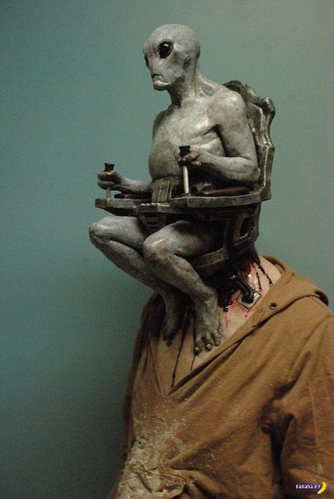 Гениальный костюм на Хеллоуин