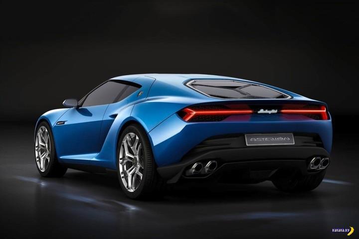 Показали Lamborghini Asterion LPI 910-4 Hybrid