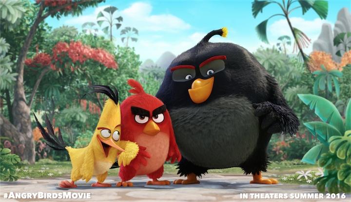 Angry Birds  - теперь и полнометражный мультфильм!