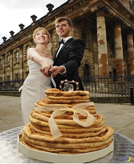 12 самых необычных свадебных тортов