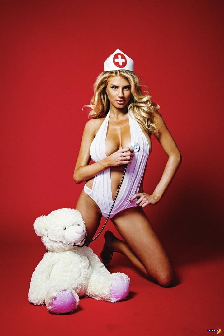 Сексуальная медсестра Шарлотта МакКинни