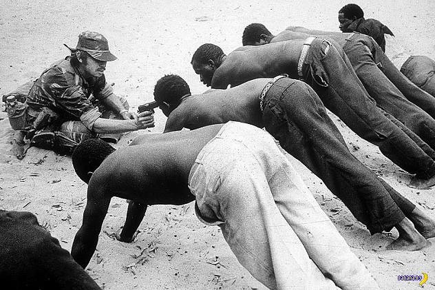 10 самых страшных фотографий с войн