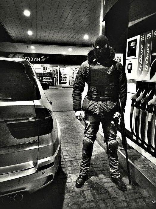 Автопарк ополчения ДНР