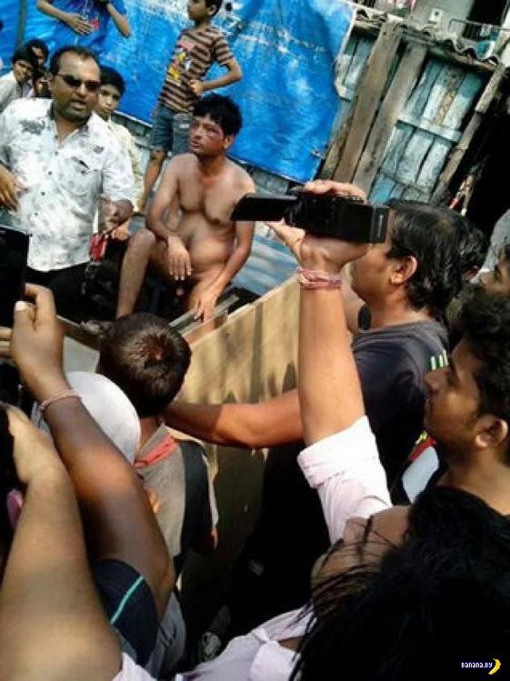 Индийское правосудие толпы
