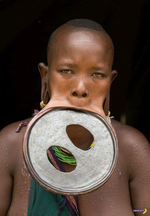 Уникальная красавица из Эфиопии