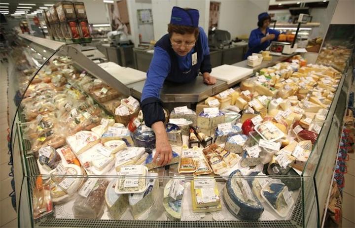 Украинский сыр опасен для россиян