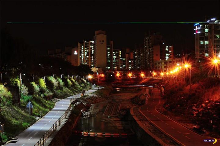 Интересное фото из Южной Кореи