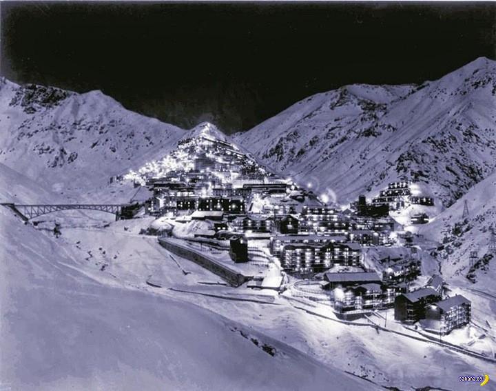 Севелл, шахтерский город в Андах