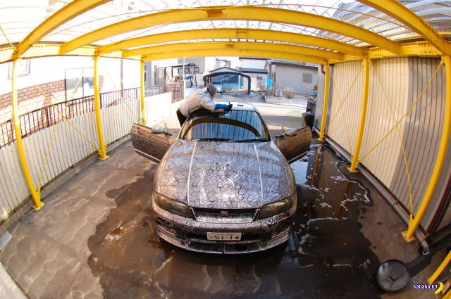 Необычный подход к украшению машины