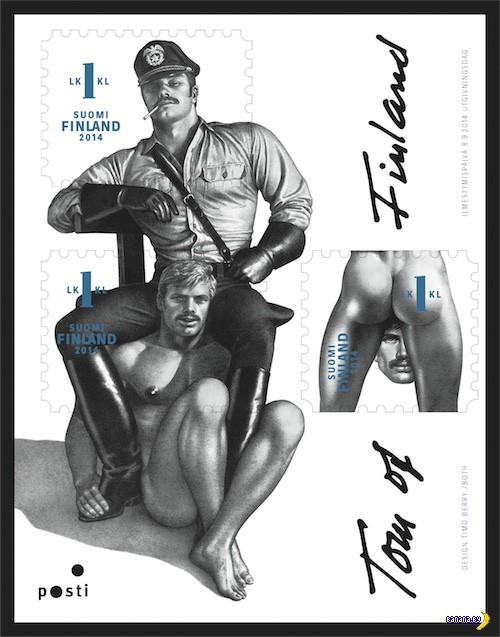 Письма с BDSM-марками хотят разворачивать