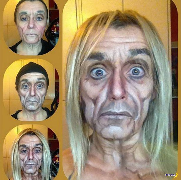 Люсия Питталис и её фантастический грим