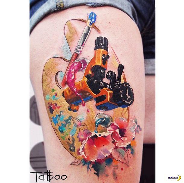 Татуировки на зависть - 18 - Валентина Рябова