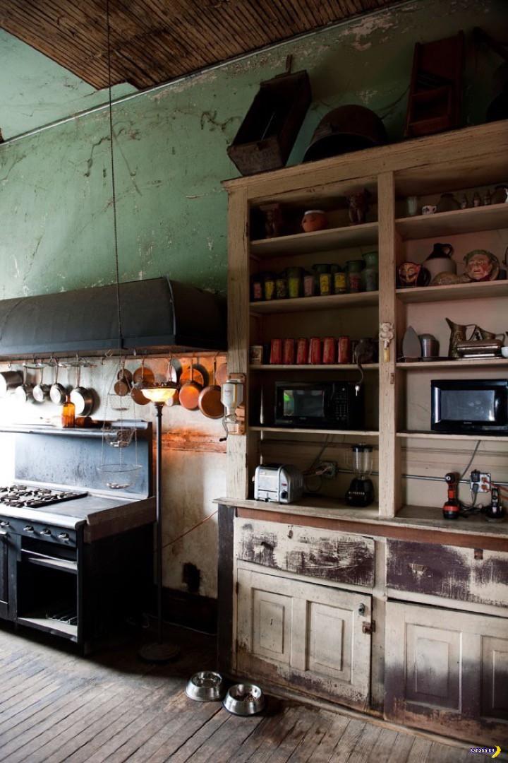 Как заброшенный клуб стал жилым домом