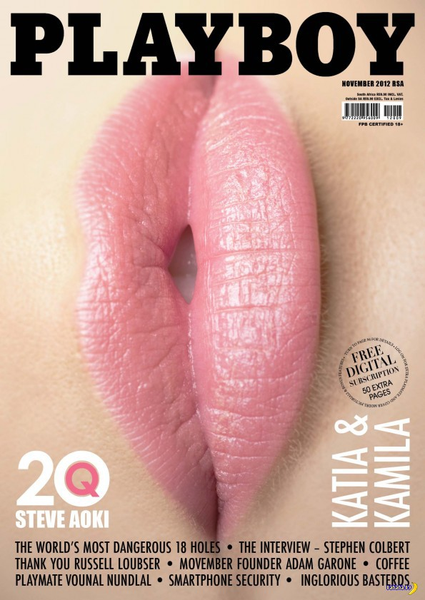 Самая скандальная обложка журнала Playboy