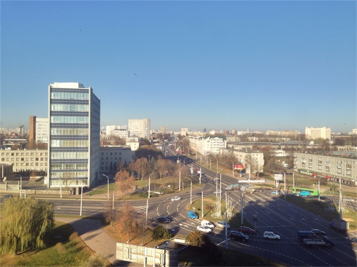 После выходных в Минске станет теплее