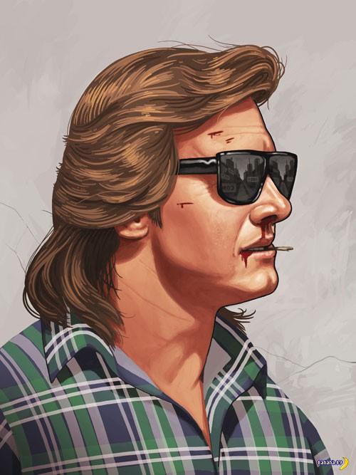 Рисует Майк Митчелл