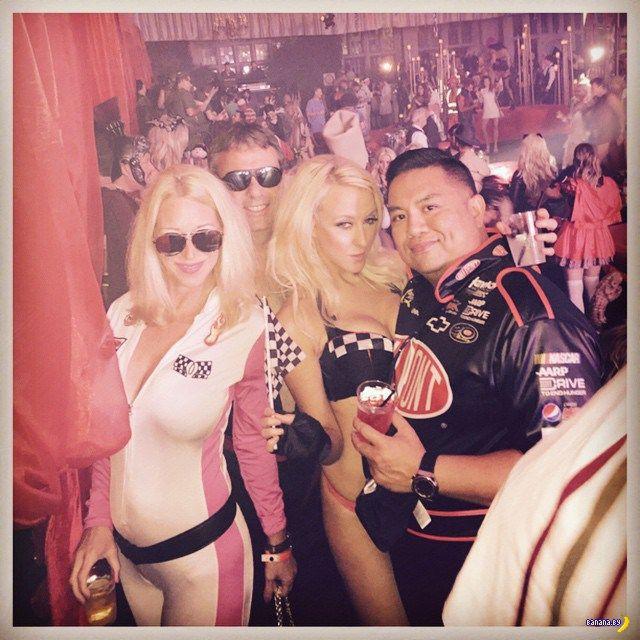 Хеллоуин-вечеринка в особняке Playboy