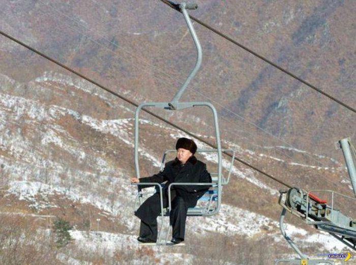 Горнолыжный курорт в Северной Корее