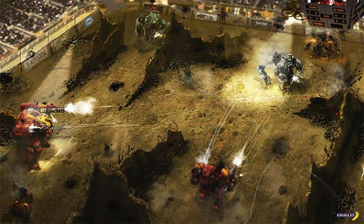 Гигантские боевые роботы?!