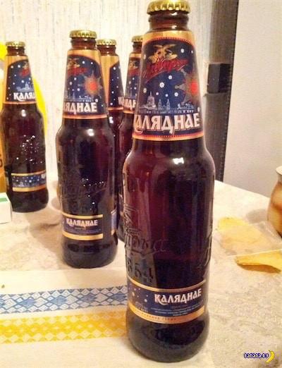 Встречаем пиво Оливария Каляднае!