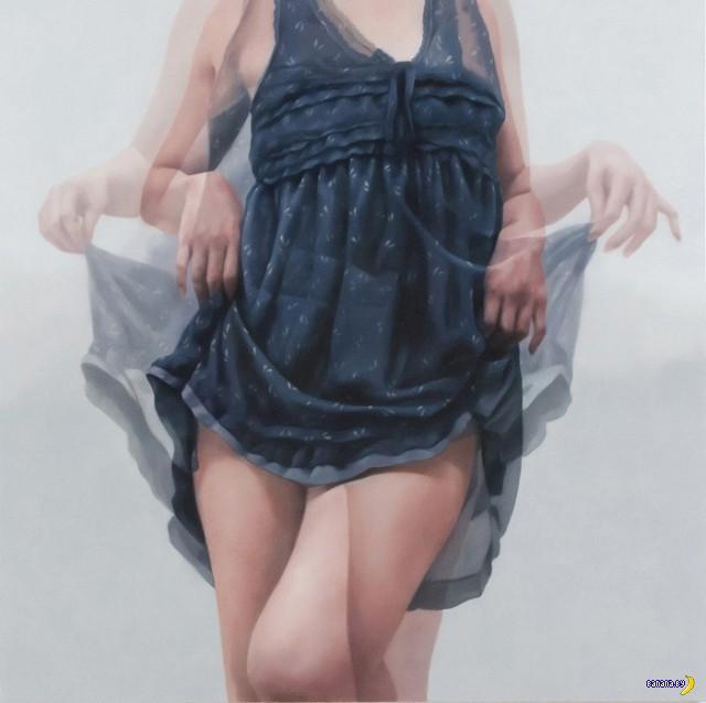 Рисует Хорьон Ли