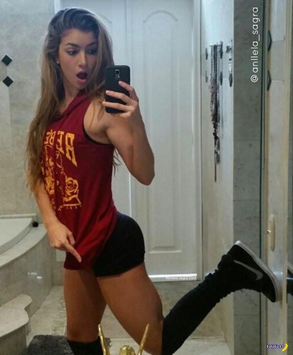 Колумбийское тело – Анжела Сангра