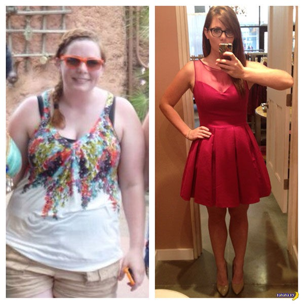 Хроники худышек: до и после