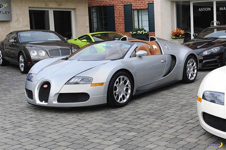 Как Bugatti меряется с Bentley