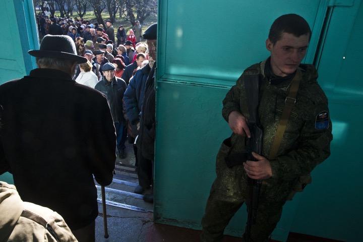 Выборы в Новороссии