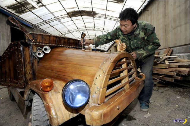 Китайская деревянная Тесла