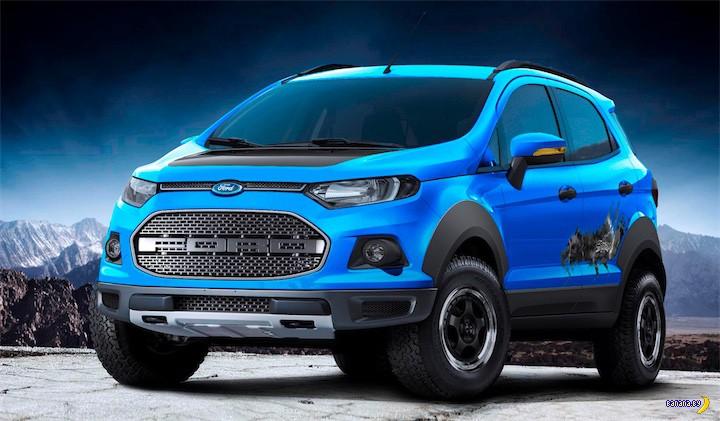 Концепт Ford EcoSport Storm