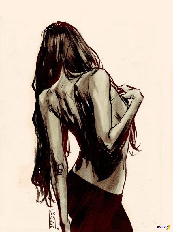 Рисует Жилль Vranckx