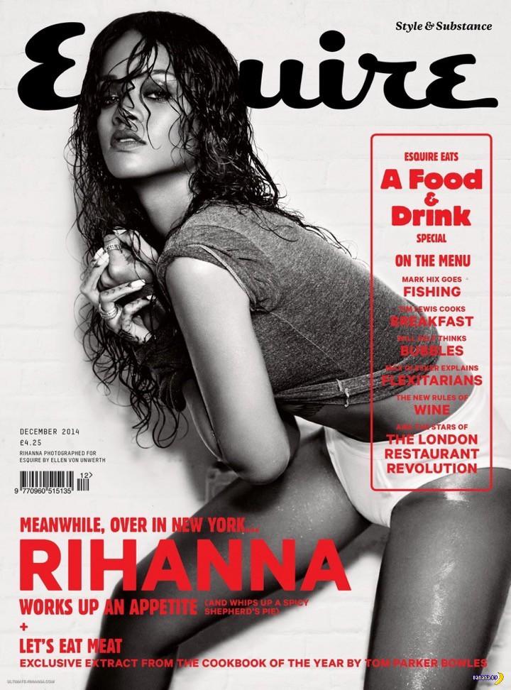 Рианна в свежем Esquire
