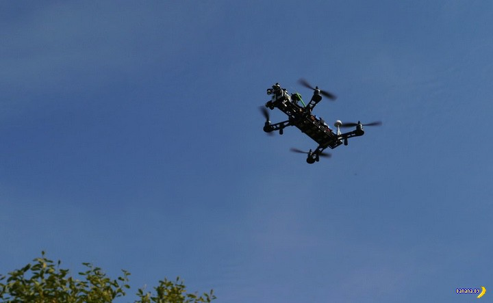Победа витебской милиции: квадрокоптер схвачен!