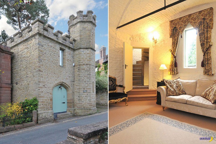 А кому замок в Англии?