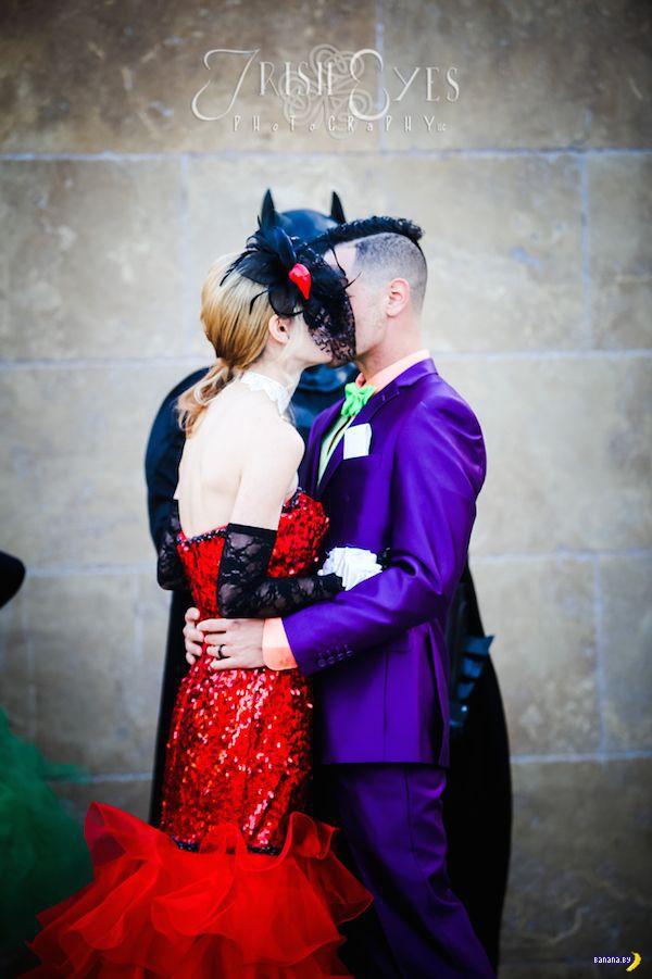 Их нравы: тематическая свадьба в стиле Бэтмена
