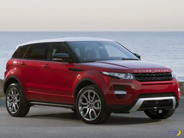 Китайцы слизали Range Rover Evoque