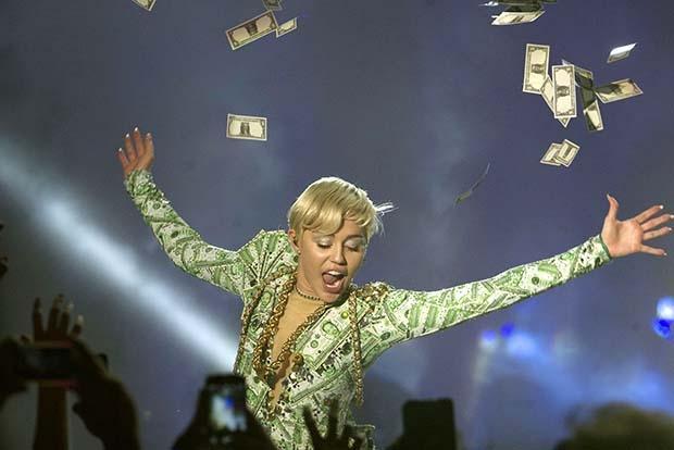 Самые высокооплачиваемые певицы 2014