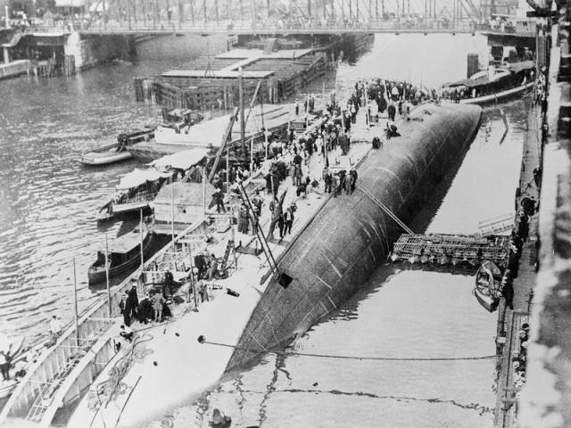 Страшное крушение парохода «Истленд»