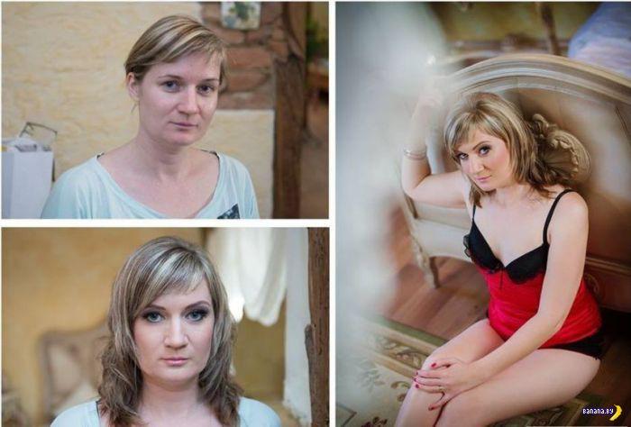 Анатомия лжи - макияж