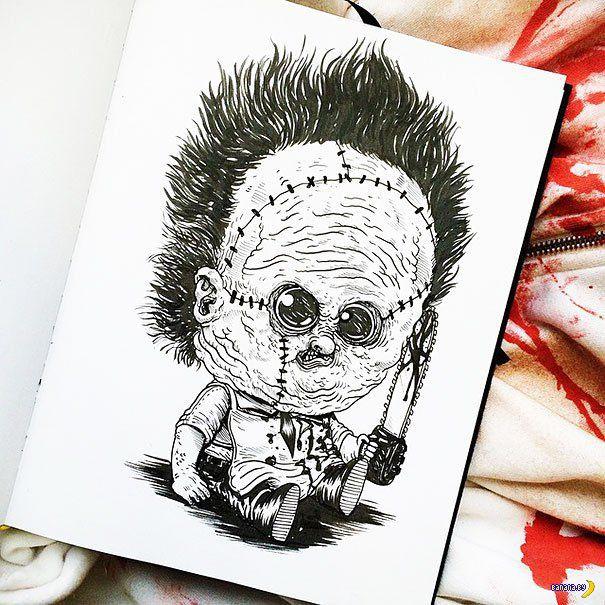 Ужасные злодеи в детстве